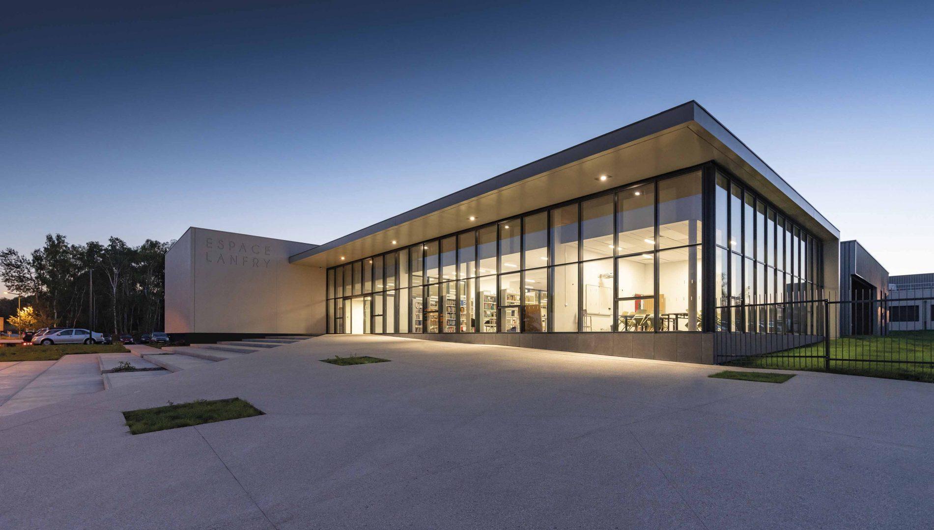 CBA agence d'architecture Rouen - Espace LANFRY